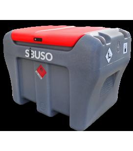 Мобильная заправка резервуар SIBUSO CM450 Basic для дизельного топлива ДП