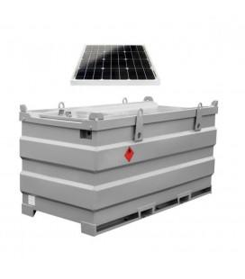 Мобільний двостінний паливний модуль МПМ АЗС MobiSTEEL 2000 для дизельного пального з дозволом ДОПОГ ДОПНВ АДР ADR