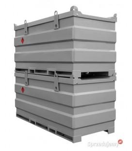 Мобільний двостінний паливний модуль МПМ АЗС MobiSTEEL 3000 для дизельного пального з дозволом ДОПОГ ДОПНВ АДР ADR